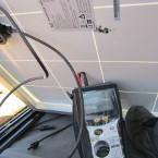 Diagnostic photovoltaique par un technicien